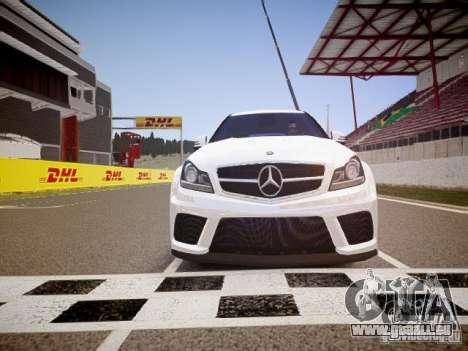 Mercedes-Benz C63 AMG Stock Wheel v1.1 für GTA 4 Seitenansicht