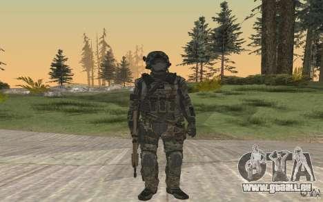 Seals soldier from BO2 pour GTA San Andreas deuxième écran