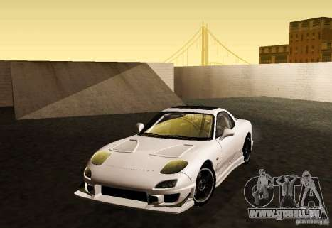 Mazda RX-7 C-West pour GTA San Andreas