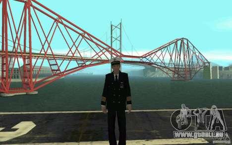 Admiral HD pour GTA San Andreas quatrième écran
