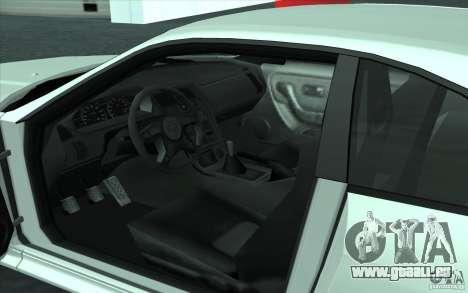 Nissan Skyline GT-R R-33 pour GTA San Andreas vue de droite