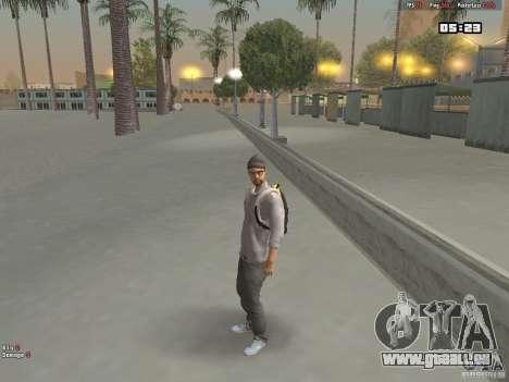 Skin Hipster v1.0 pour GTA San Andreas deuxième écran