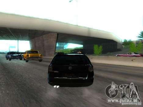 Volkswagen Passat B6 Variant Com Bentley 20 Fixa pour GTA San Andreas vue de droite