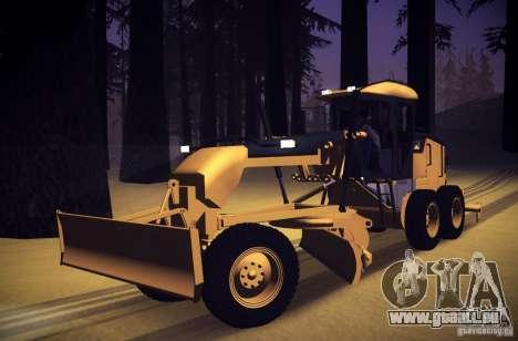 Caterpillar 140AWD Motorgrader für GTA San Andreas