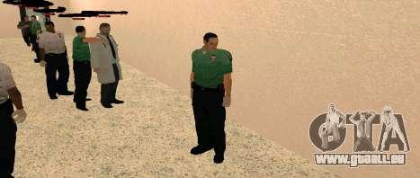 Medic Pack pour GTA San Andreas troisième écran