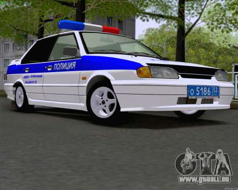 VAZ 2115 Police pour GTA San Andreas