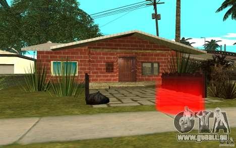 Nouvelles textures maison Denis pour GTA San Andreas quatrième écran