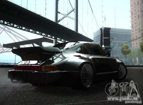 Porsche 911 Turbo RWB pour GTA San Andreas vue de droite