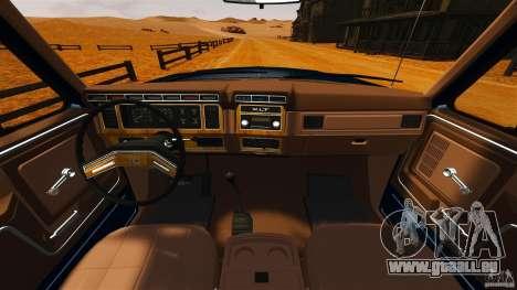 Ford Bronco 1980 für GTA 4 rechte Ansicht
