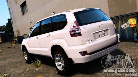 Toyota Land Cruiser Prado für GTA 4 linke Ansicht