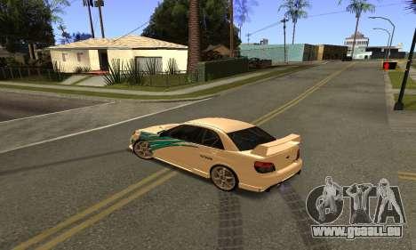 Subaru Impreza WRX STi 2006 pour GTA San Andreas vue arrière