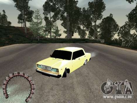 VAZ 2107 or pour GTA San Andreas