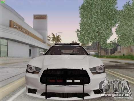 Dodge Charger 2012 Police für GTA San Andreas linke Ansicht