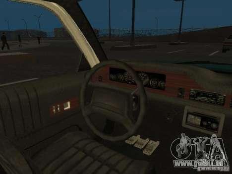 HD Police from GTA 3 für GTA San Andreas Seitenansicht
