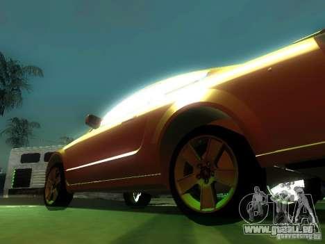 Ford Mustang GT für GTA San Andreas Seitenansicht