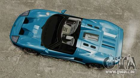 Ford GTX1 2006 für GTA 4 rechte Ansicht