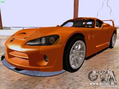 Dodge Viper GTS-R Concept für GTA San Andreas