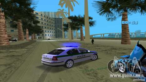Skoda Octavia 2005 für GTA Vice City obere Ansicht