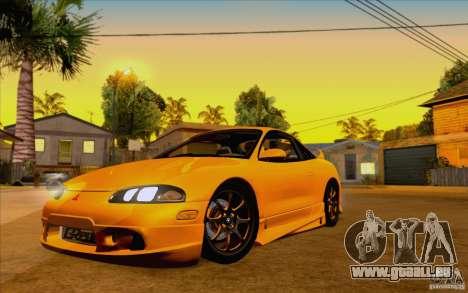 Mitsubishi Eclipse GSX Mk.II 1999 für GTA San Andreas