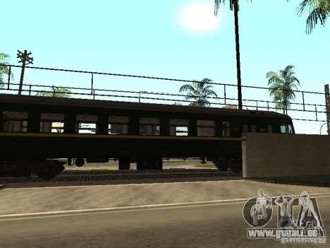 ÈR2R-7750 pour GTA San Andreas laissé vue