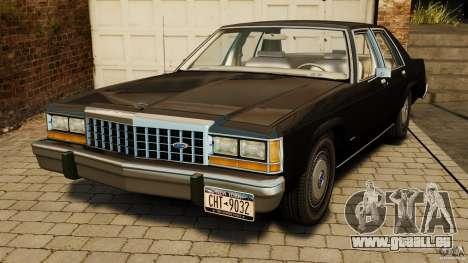 Ford LTD Crown Victoria 1987 für GTA 4
