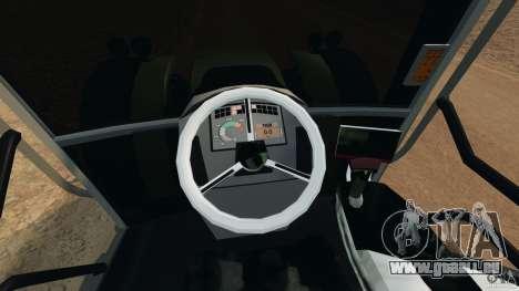 Claas Axion 850 für GTA 4 Rückansicht