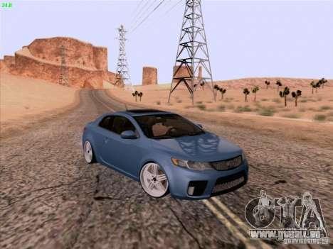 Kia Cerato Coupe 2011 für GTA San Andreas