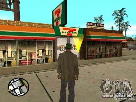 Neuen Texturen-Restaurants für GTA San Andreas her Screenshot