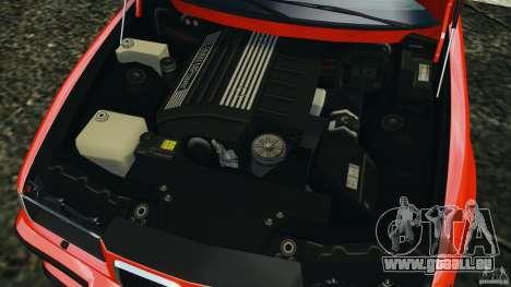 BMW M3 E36 für GTA 4 obere Ansicht