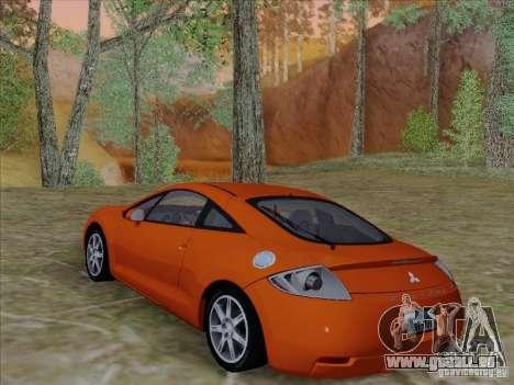 Mitsubishi Eclipse GT V6 pour GTA San Andreas vue de dessus