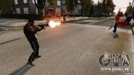 Les véritables dégâts des armes pour GTA 4 cinquième écran