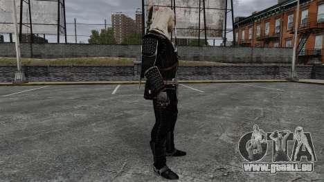 Geralt de Rivia v8 pour GTA 4 secondes d'écran