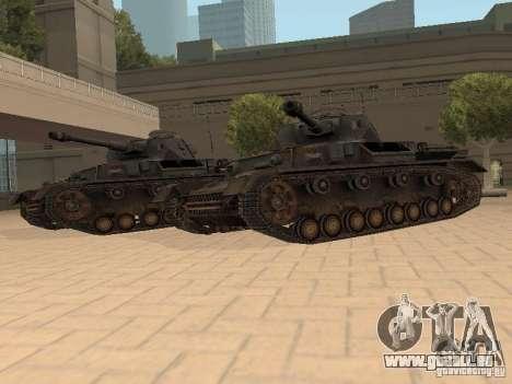 Pzkpfw IV pour GTA San Andreas