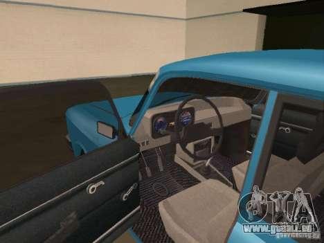 Moskvich 2140 SL pour GTA San Andreas vue de droite