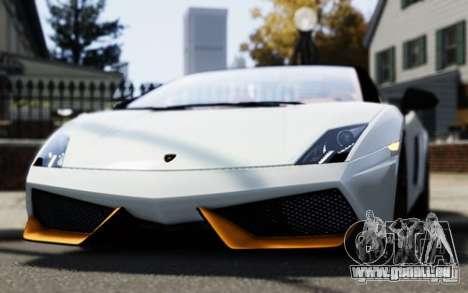 Lamborghini Gallardo LP570-4 Spyder für GTA 4 rechte Ansicht
