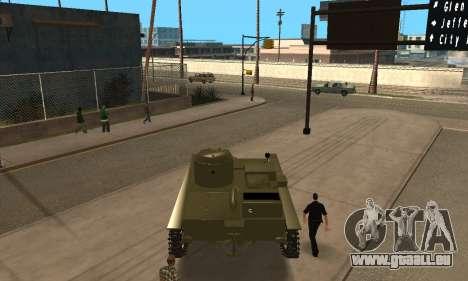 T-38 für GTA San Andreas zurück linke Ansicht