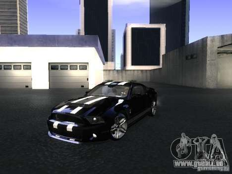 Ford Mustang Shelby GT500 für GTA San Andreas