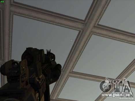 MK-18 US Navy Style pour GTA San Andreas quatrième écran