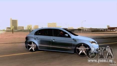 Volkswagen Golf G5 pour GTA San Andreas sur la vue arrière gauche