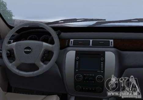 Dodge Ram Ambulance pour GTA San Andreas salon