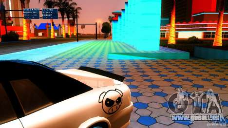 Black and White Elegy für GTA San Andreas zurück linke Ansicht