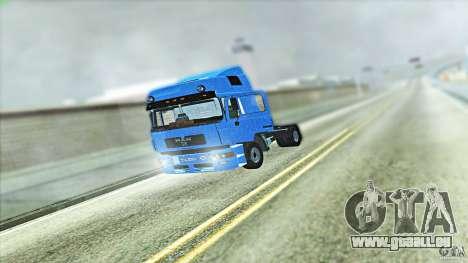 Man F2000 für GTA San Andreas