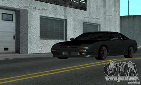 Nissan 200SX Turbo pour GTA San Andreas sur la vue arrière gauche