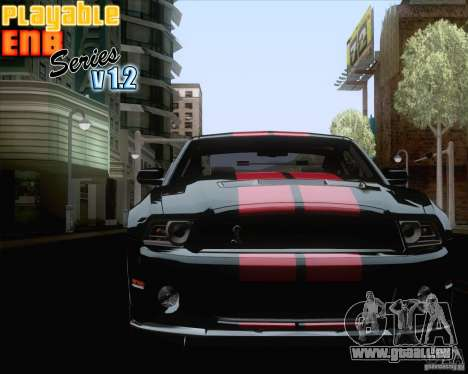 Playable ENB Series v1.2 für GTA San Andreas