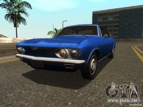 Chevrolet Corvair Monza 1969 für GTA San Andreas
