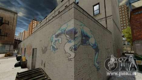 Neue graffiti für GTA 4 Sekunden Bildschirm