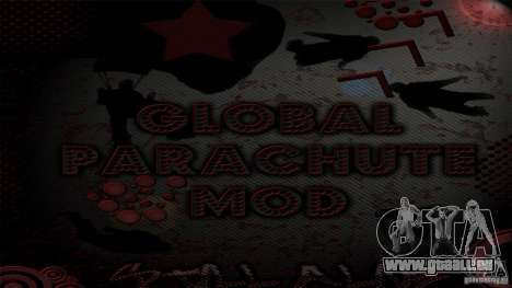 Global Parachute Mod pour GTA San Andreas