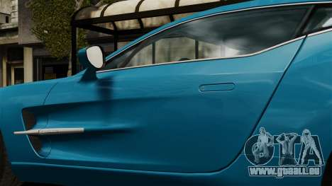 Aston Martin One-77 für GTA 4 Rückansicht