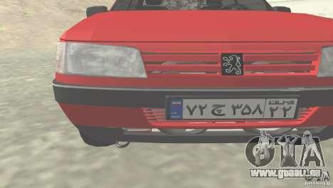 Peugeot RD 1600i für GTA San Andreas linke Ansicht
