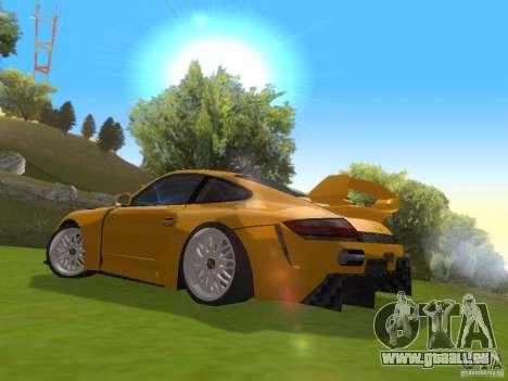 Porsche 911 Turbo Tuning pour GTA San Andreas sur la vue arrière gauche